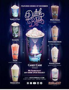 #blackrockcoffee Dutch Bros Menu, Dutch Bros Secret Menu, Dutch Bros Drinks, Starbucks Secret Menu, Starbucks Drinks, Coffee Drinks, Starbucks Coffee, Iced Coffee, Coffee Time