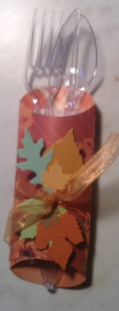 Utensil wrap for Thanksgiving or any fall related event. These are made using a pillow. Box PunchPunch BoardTable ... & Pillow Box Punch Board was used to make these beautiful utensil ... pillowsntoast.com