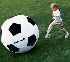 The most enormous soccer ball you've ever seen. | 23 Impossibly Fun Gifts For Kids That Even Adults Will Want