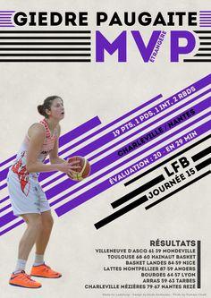 Giedre Paugaite - MVP Etrangère - LFB Journée #15