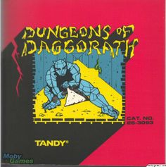Dungeons of Daggorath TRS-80 (Played by Wade to open the First Gate in Ready Player One)