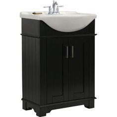 """Found it at Wayfair - 24"""" Single Bathroom Vanity Set"""