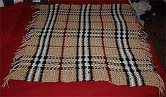 Ravelry: Burberry Baby Blanket pattern by Faythe Saxton