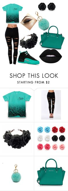 """""""Untitled #145"""" by dimmmples ❤ liked on Polyvore featuring Rock 'N Rose, Michael Kors and Lime Crime"""