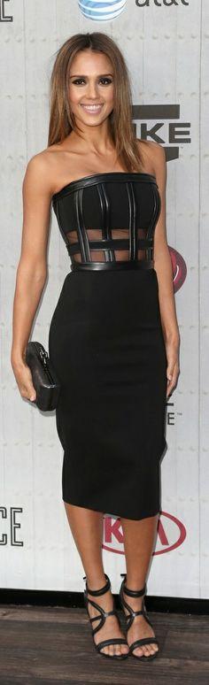 Jessica Alba In David Koma – Spike TV's 'Guys Choice 2014′ 07/06