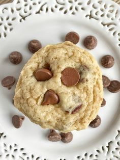 Banana chocolate chip cookies are soft baked cookies that are full of banana and chocolate flavor. Melty chocolate and sweet bananas combine to make a fun twist to the classic chocolate chip cookie. Plus, they're egg-free too!