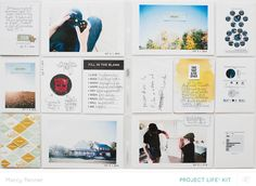 Project Life // October 2014 (main only) by marcypenner at @studio_calico