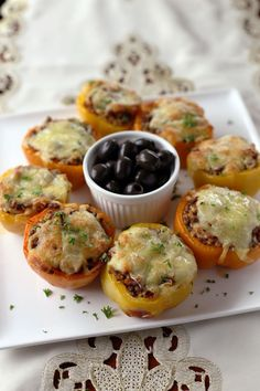 Stuffed Peppers with rice and minced beef