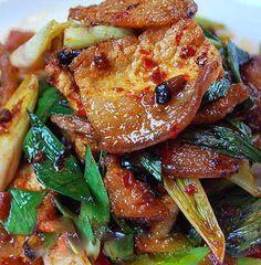 Thịt heo xào cháy cạnh - http://congthucmonngon.com/7839/thit-heo-xao-chay-canh.html