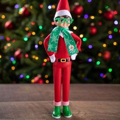 Get Elf on the Shelf to stand using the Claus Couture standing prop. Elf on the Shelf standing up can change all of your Elf ideas. A new Elf prop this year is the Claus Couture Holiday Hipster. This standing gear includes Elf Shoes and plastic pants so that Elf on the Shelf can stand up. Check out some of the best (must have) Elf on the Shelf Props, plus grab these three incredibly cute Elf Social Media Photo Booth Props Boards #FrugalCouponLiving #ElfontheShelf #ElfontheShelfIdeas Photo Booth Frame, Photo Booth Props, Instagram Photo Booth, Elf Store, Elf Pets, Hipster Glasses, Elf Costume, Elf Doll, Doll Stands