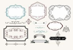 Free vintage label vector Free vector for free download (about 64 ...