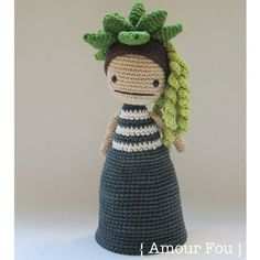 Flora The Succulent  Crochet Pattern by Amour Fou