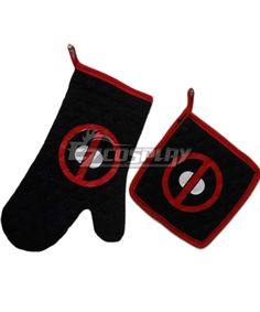 Super Hero DeadPool Full cotton Mustache Oven Mitt (oven Glove) and Pot Holder Cooking Tools Set #Everyone Can Cosplay! Cosplay costumes #Anime Cosplay Accessories #Cosplay Wigs #Anime Cosplay masks #Anime Cosplay makeup #Sexy costumes #Cosplay Costumes for Sale #Cosplay Costume Stores #Naruto Cosplay Costume #Final Fantasy Cosplay #buy cosplay #video game costumes #naruto costumes #halloween costumes #bleach costumes #anime