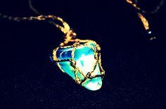 Moon stone Necklace/ colar de pedra da lua