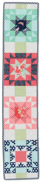 Twinkle quilt row designed by Camille Roskelley of Thimbleberries