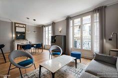 Rénovation complète d'un appartement de 110 m2 près du Trocadéro, Agence Olivia Clor - Côté Maison