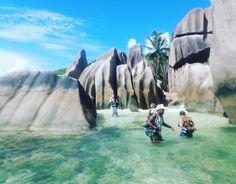 """Wanderung zum versteckten Strand """"Anse Marron# - ein Geheimtipp!!! #taipan_seychellen #seychellen #ladigue"""