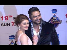 Shefali Zariwala with husband Parag Tyagi at Zee Rishtey Awards Awards 2017, Husband, Tv, Celebrities, Music, Youtube, Musica, Celebs, Musik