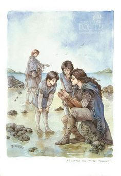 As little might be thought | Maedhros, Maglor, Elrond, & Elros