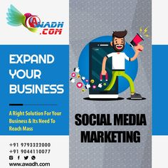 A Right Solution For Your Business & Its Need To Reach Mass  Use social media platforms to connect with your audience to build your brand, increase sales, and drive website traffic. Even in B2B you can turn your customers into your fans in no time with the right social media marketing strategy. Call Us @ +91 9793322000, 9044110077 #SocialMediaMarketingServices #SMMService #MediaMarketing #SocialMediaExperts #Branding #MarketingOnline #SocialMediaMarketingAgency #SocialMediaMarketingCompany Social Media Marketing Agency, Online Marketing, Digital Marketing, Website Promotion, Increase Sales, Build Your Brand, Seo Services, App Development, Platforms
