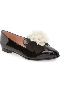 KATE SPADE 'Cinda' Flower Loafer (Women). #katespade #shoes #flats