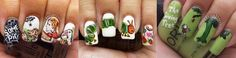 15 Nail Art Designs Inspired By Your Favorite Children's Books… | B for Bel