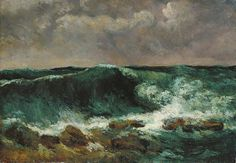 CULTURE N LIFESTYLE — The Waves Series byGustave Courbert Known as...
