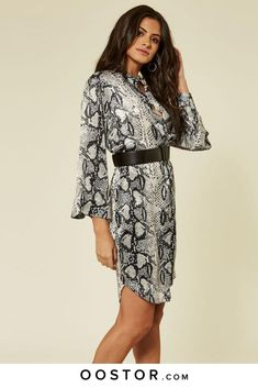 d527714f0263 Animal snake skin print dress, perfect for a dinner date or holiday wear.  Holiday