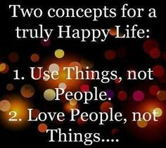 Happy life rules
