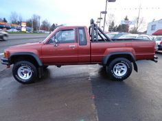 1987 TOYOTA EXCAB SR5 EXTRA CAB 4X4 4CLY 5 SPEED ROLL BAR LIGHTS MAGS ...