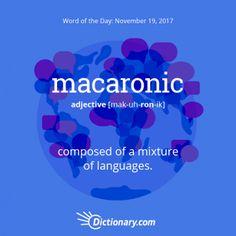 Macaronic-