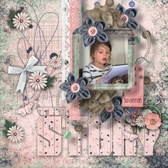Created with the beautiful July Collaboration kit, One of a Kind,by the designers at goDigitalScrapbooking. This beautiful kit is perfect for many genres of layouts ,such as Weddings, Family, and other celebrations. Done in shades of pink, purple and blues it is perfect for black and white photos. Contains 119elements,43 papers ,word art, clusters,12x12 template ,two alphabets, gradient papers,and splatters. Mask by PattyB Scraps.