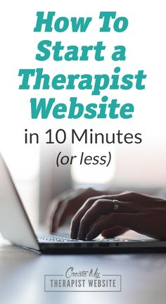 Step by step instructions to walk you through how to set up your hosting, domain name and WordPress for your therapy practice website.
