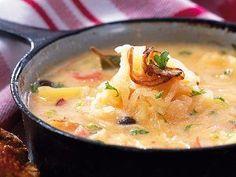 Another classic Czech recipe: Sauerkraut Soup (Zelnacka)