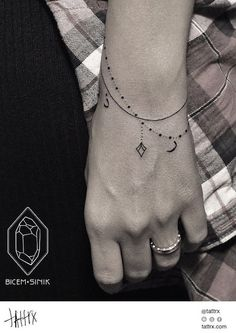 by Bicem – Sinik, Istanbul, Turkey | wrist tattoos