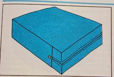 .:Mirre syr:.: Sy ett överdrag till en dyna med eller utan blixtlås