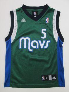 NBA Dallas Mavericks Josh Howard #5 Jersey by Adidas, Youth  S (8) #adidas #DallasMavericks