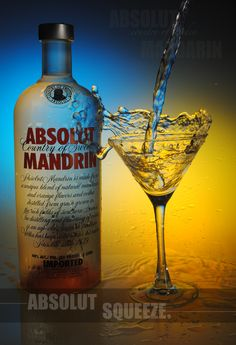 Absolut Mandarin - G's go-to vodka (add Sprite!)