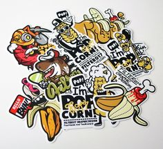 Cool Sticker Designs to Provide Inspiration for your Own Designs.