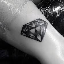 Image result for diamond tattoo shaded