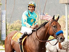 American Pharoah may be more than ready to make his 3-year-old debut. The Zayat Stables-owned son of Pioneerof the Nile worked an eye-catching seven furlongs in 1:23 4/5 Feb. 27 at Santa Anita Park.