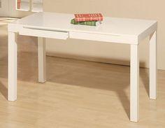Student Desk, White modern desks