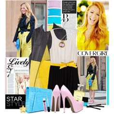 Star style - Blake Lively, created by tamara-p on Polyvore