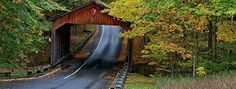 Pierce Stocking Covered Bridge, Empire - MI | Roadtrippers