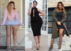 Três lindos modelos plus size, da Nadia Aboulhosn, para inspirar!