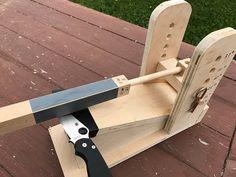 (1) My homemade Knife sharpener 2.0 - YouTube