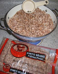 The Beginning Farmer's Wife: Canning Pinto Beans