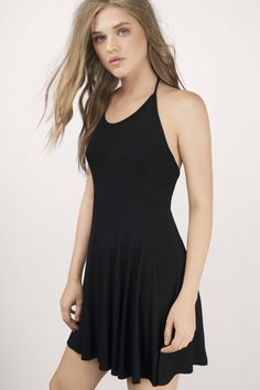 Courage To Say Skater Dress