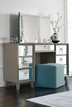 Buy Mink Osbourne Dressing Table From The Next UK Online Shop