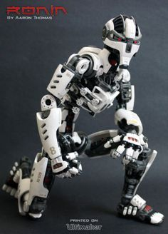 3ders.org - Maker spent 6 months building a 3D printed fully posable action figure | 3D Printer News & 3D Printing News